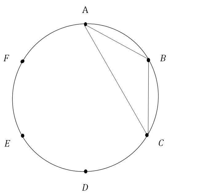 確率三角形例1