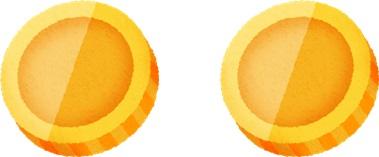 2つのコイン