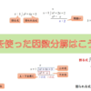 【高校数学(因数分解)】割り算を使った因数分解のやり方を丁寧に説明